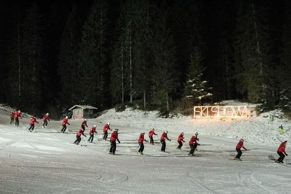 Sappada sci ski show